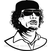 COLONEL GADDAFI VECTOR.eps