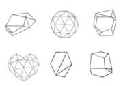 Free Vector Geometrical Shape Set