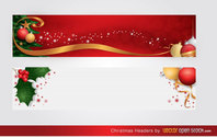 Merry Christmas Website Header Free