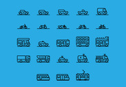 71 transportation icons PSD EXCLUSIVE
