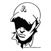 BOY WITH CAP FREE VECTOR.eps