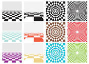 Vector Checker Board Patterns