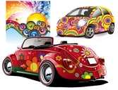 DISCO PARTY AND CAR
