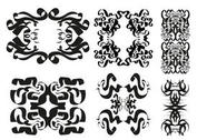 Free Tribal Vector Ornament Set