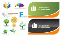 Cards and logo template