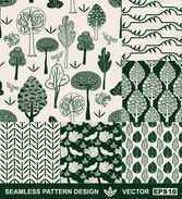 Hand-painted pattern background vector002