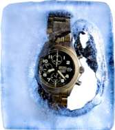 Iced Out Watch PSD