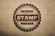 Grunge Stamp Borders Multi-Pack