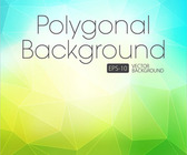Polygonal natural background