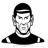 MR.SPOCK VECTOR PORTRAIT.eps