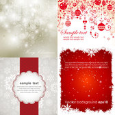 Beautiful Christmas vector template