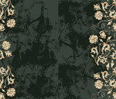 Background Of Ornate Patterns And Dirty