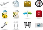Handy Icons Vacations & Travel