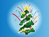 Decorated Christmas Tree Cartoon