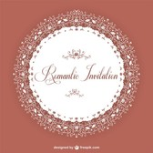 Elegant vintage invitation