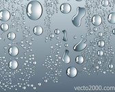 Stock Vector Water Drops