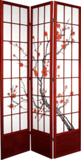 Cherry Blossom Screen Divider PSD