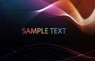 Abstract Wave Vector Background Image