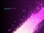 Abstract Lights Purple Background