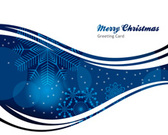Abstract christmas background for greeting card