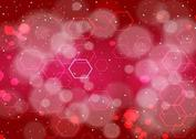 Red Hexagons