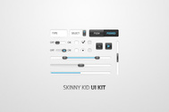 Skinny Kid UI Kit