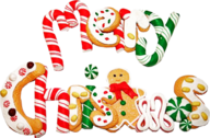 Merry Christmas Font PSD