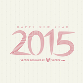 2015 Long Linen Letters Typography
