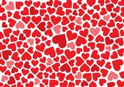 Free Hearts Background
