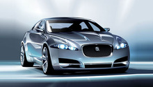 Free Vector Jaguar C-XF Car (.Ai)