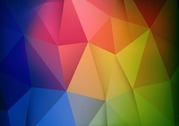 Abstract Colorful Geometric Shapes Background