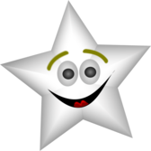 Smiling Star with Transparency