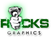 Racks Graphics Logo PSD