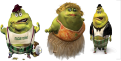 mucinex mucus characters PSD
