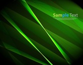 Abstract Green Artistic Background
