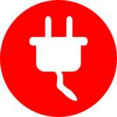 electric power plug icon