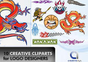 10 Creative Cliparts for Logo Designers