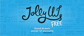 Jolly UI Free free hand-drawn vector UI elements