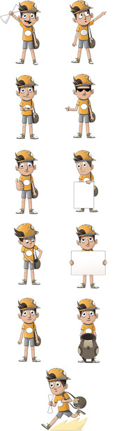 Boy Vector Character