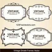 VINTAGE BANNERS SET VECTOR.eps
