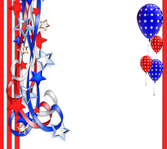 4th of july backgound PSD