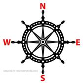 SHIP HELM VECTOR IMAGE.eps