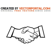 HANDSHAKE STOCK VECTOR GRAPHICS.eps