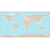 MAP OF THE WORLD OUTLINE VECTOR.eps