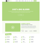 IMX Resume CV One Page Website