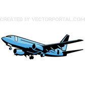AIRPLANE VECTOR IMAGE.eps