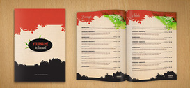 Restaurant Menu PSD-sjabloon