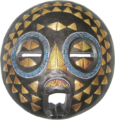 African Mask 4 PSD