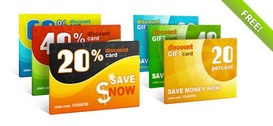 Free PSD Discount Gift Cards