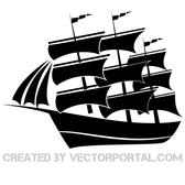 SAILBOAT VECTOR GRAPHICS.eps
